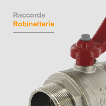 Raccords robinetterie