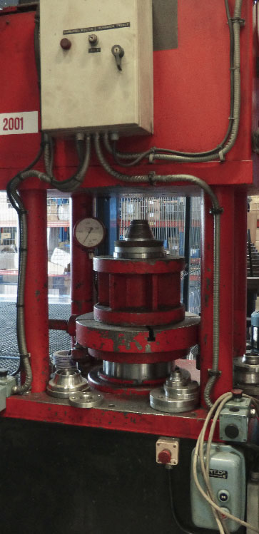 200-tonne press