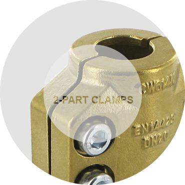 2-part clamps