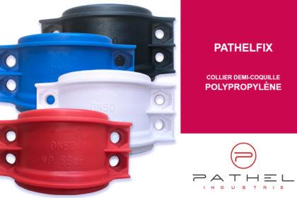 Nouveaux colliers demi-coquilles Polypropylène