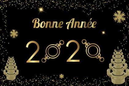 * Bonne année 2020 *