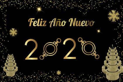 * Feliz Año Nuevo 2020 *