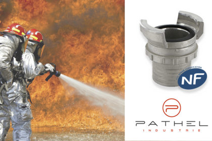 Pathel DSP fire hose couplings are AFNOR certified