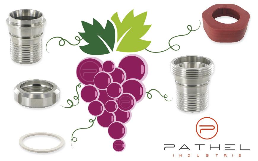 Pathel Industrie le acompaña en la preparación de las vendimias.