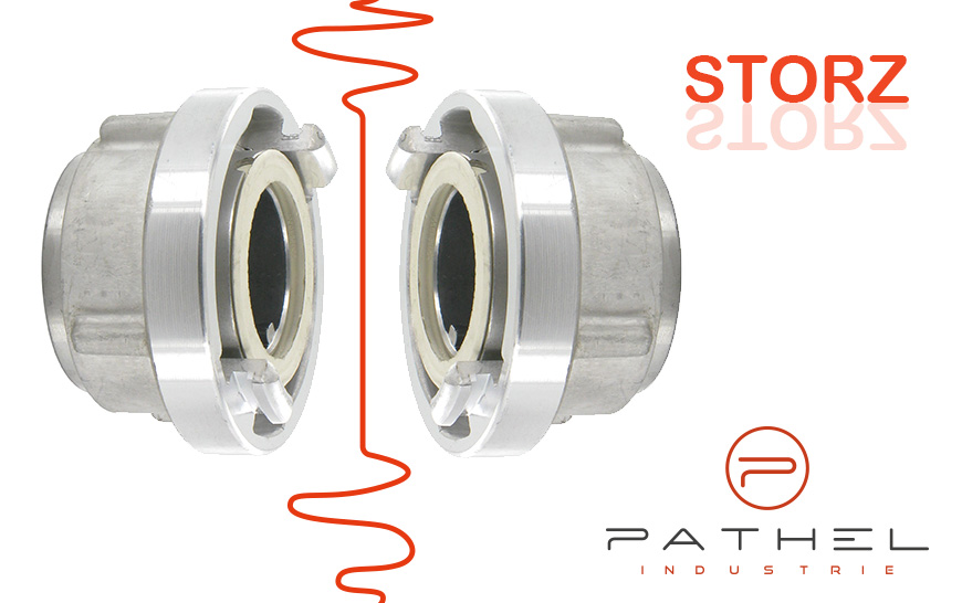 The Storz fitting : symmetrical and adaptable