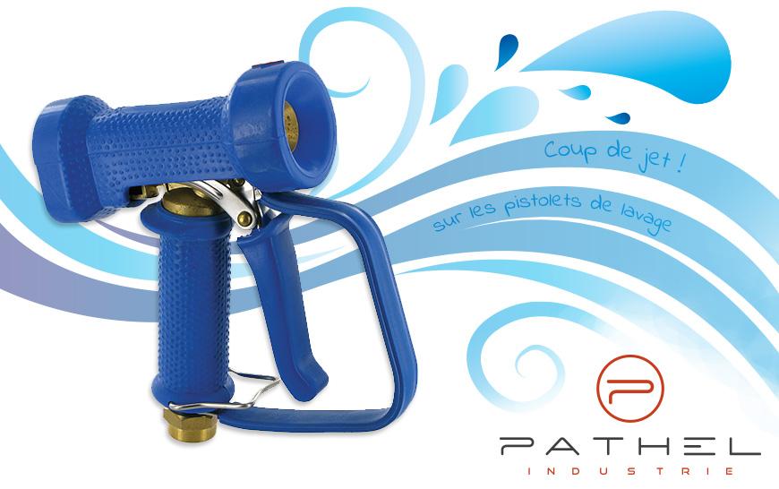 Promotion sur les pistolets de lavage Pathel