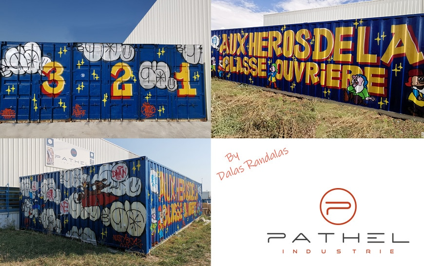 Dalas Randalas customise les containers Pathel