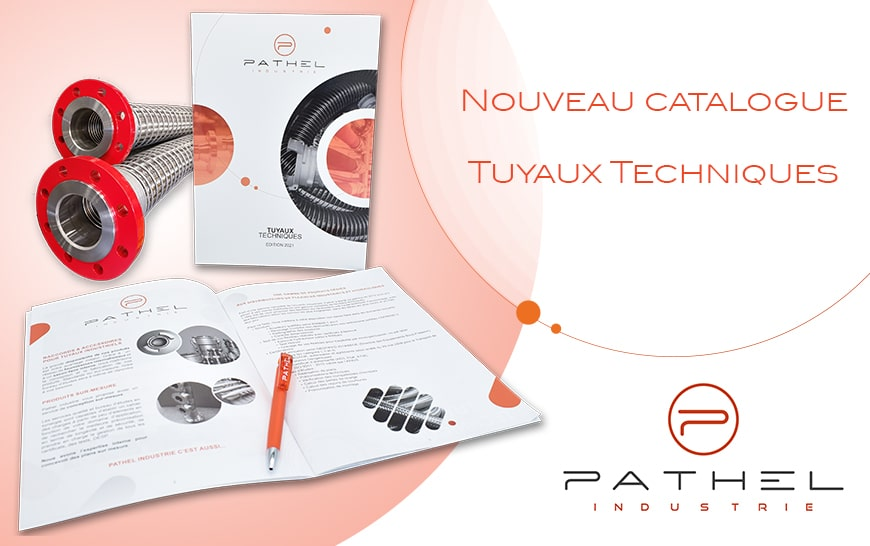 Un nouveau catalogue sur les Tuyaux Techniques arrive chez Pathel.