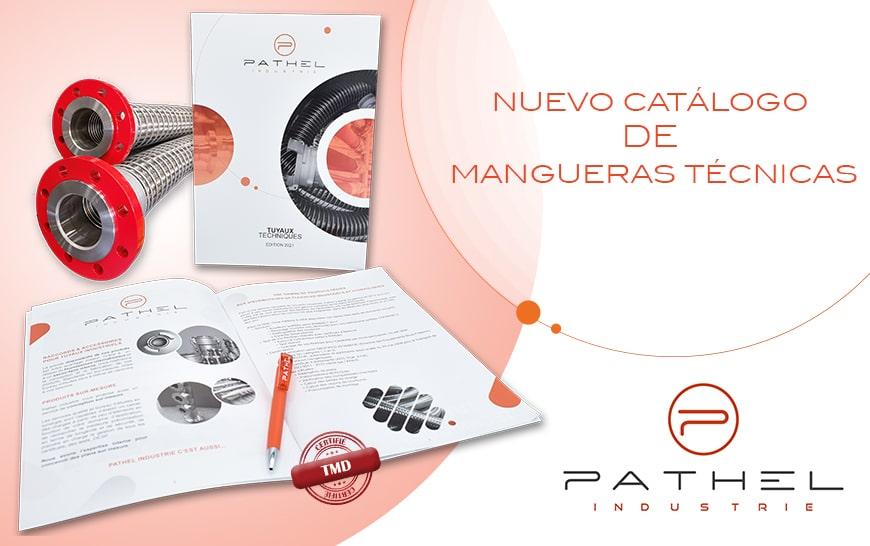 Ya está disponible en Pathel un nuevo catálogo de Mangueras Técnicas.
