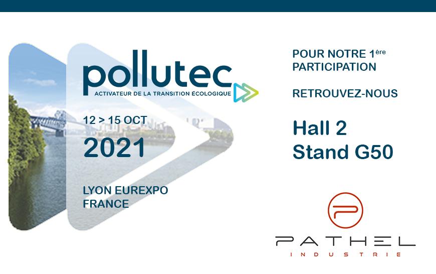 POLLUTEC 2021 – Nous serons présents