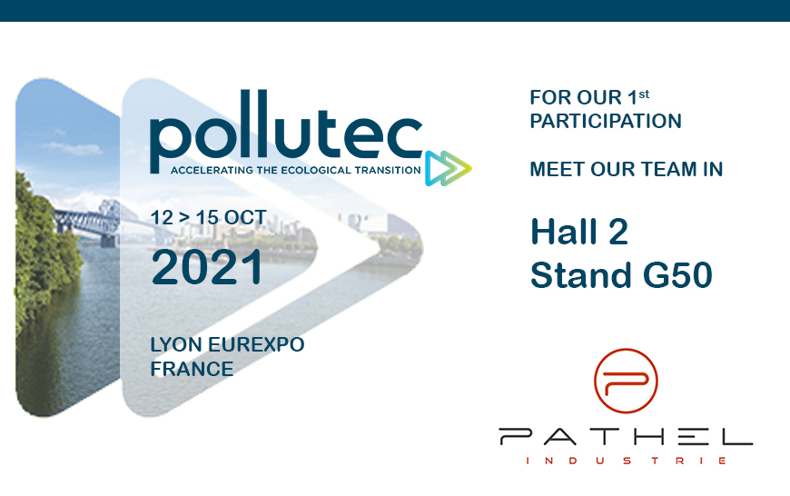 POLLUTEC 2021 – We will be there
